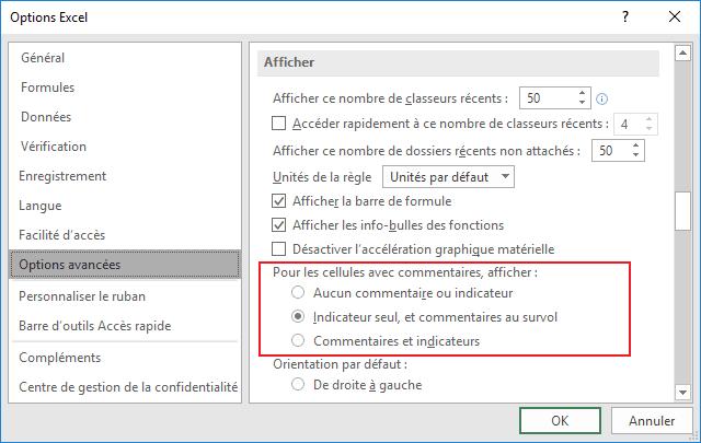 obtenir pas cher Prix 50% design exquis Comment masquer / afficher les indicateurs de commentaire ...