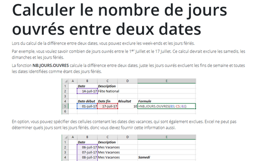 Formule In Excel Conseils